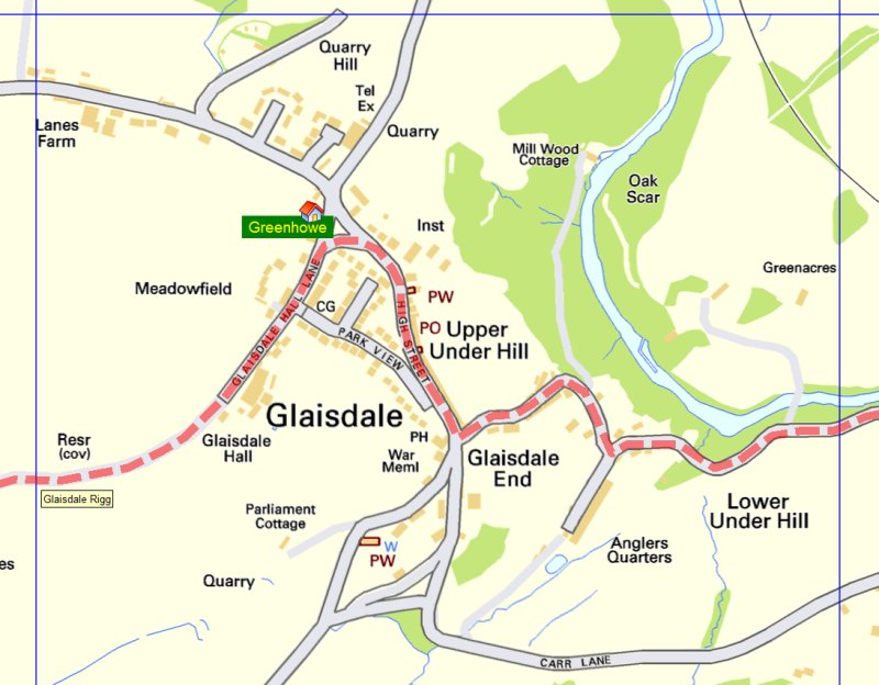 Glaisdale Map